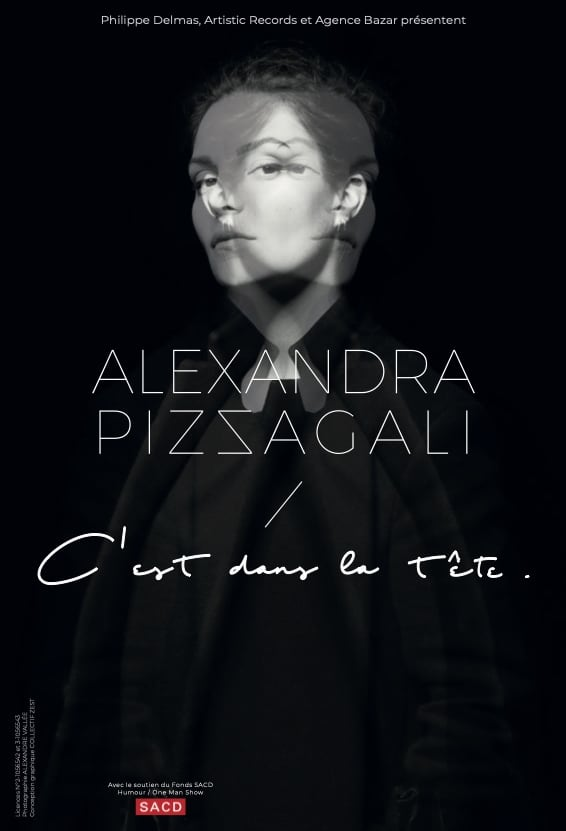Alexandra Pizzagali - Tournée