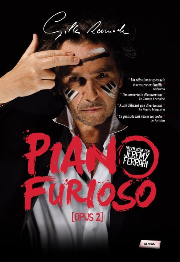 Gilles Ramade - Piano Furioso